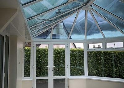 Roof options - glass roof
