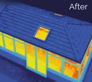 Guardian Warm Roof: Image of a conservatory after having a Guardian Warm Roof fitted.